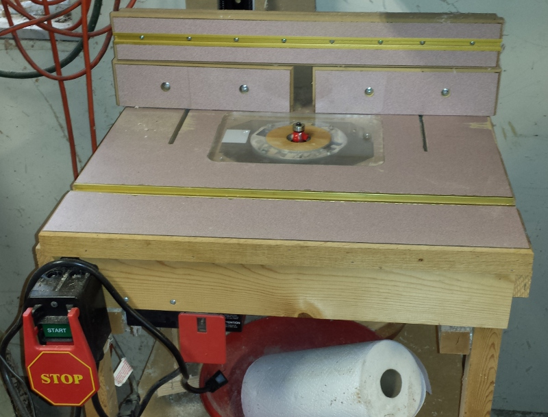 using a router table